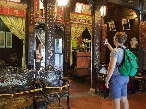 inside old house Hoi An