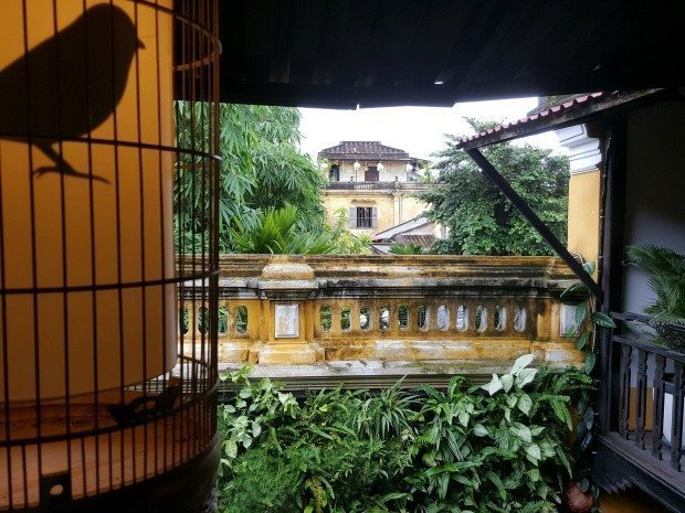 internal courtyard Hoi An