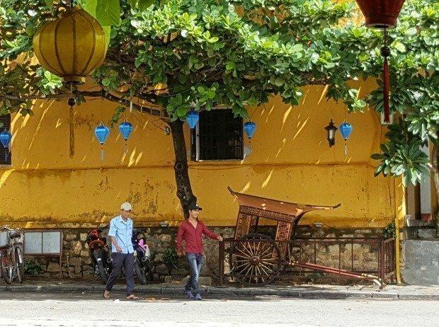 old rickshaw Hoi An Vietnam