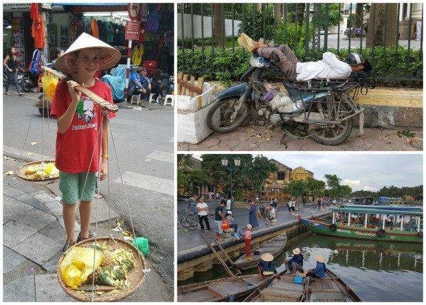 Hanoi Hoi An collage