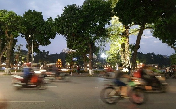 Hanoi evening