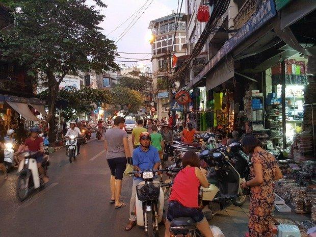street life Hanoi
