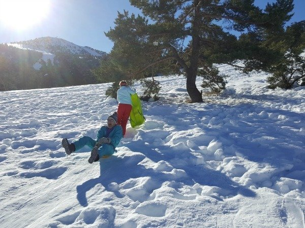 Sunday Photo – Sledging