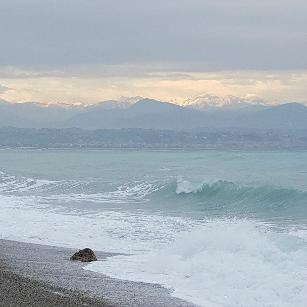 Sunday Photo – wintry Côte d'Azur