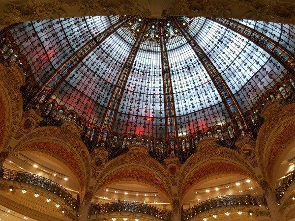 Galeries Lafayette Haussmann Paris