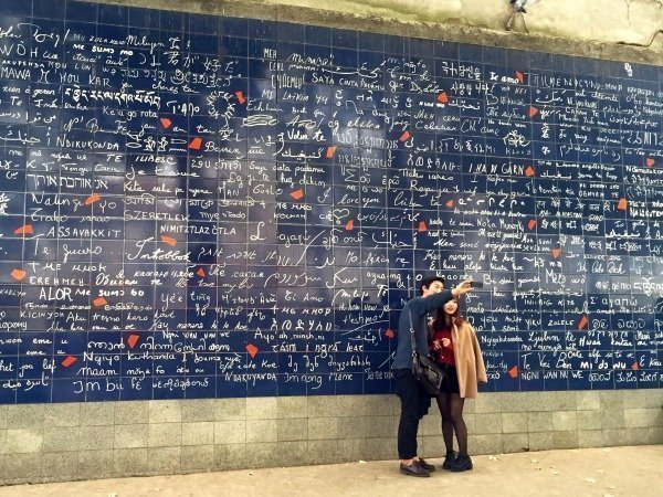 Love wall Paris