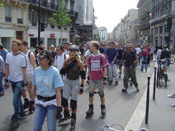 Paris rollers