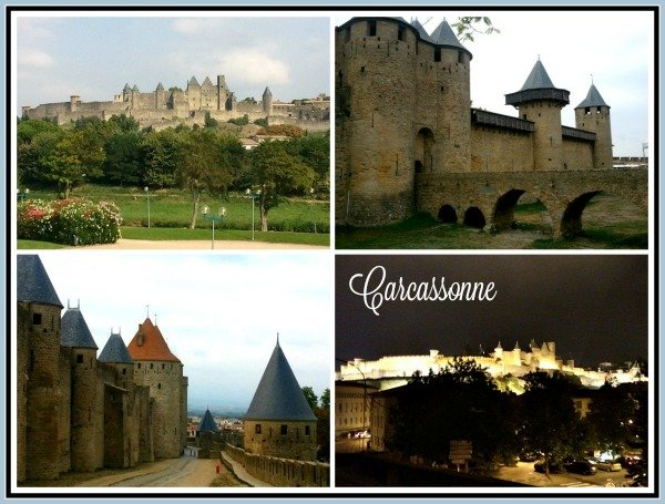 French road trip Carcassonne