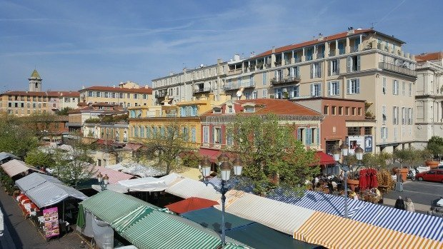 Cours Saleya Nice – colourful market