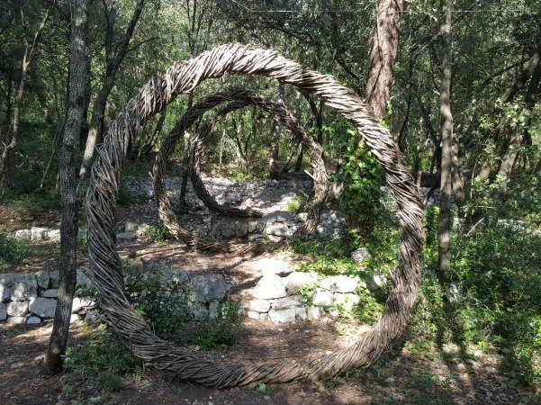 forest art circles