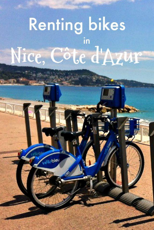 renting vélo bleu in Nice