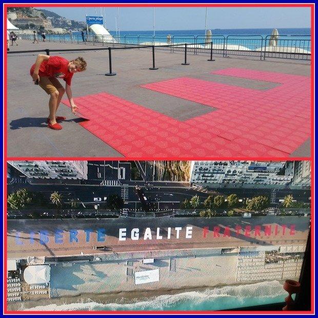 Homage in Nice