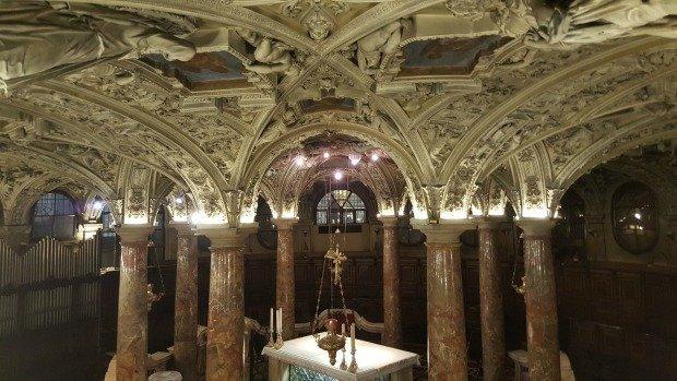Milan Duomo crypt