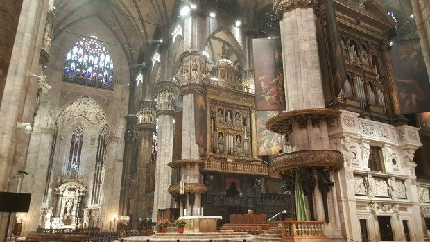 Milan Duomo organ