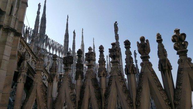 Milan Duomo roof detail