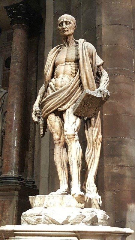 Milan Duomo statue