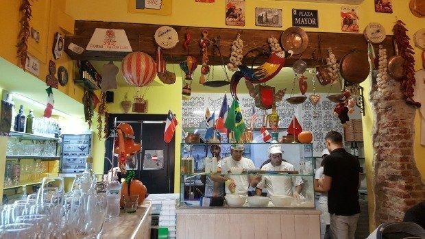 Milan Piz restaurant