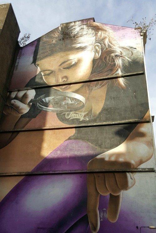 Glasgow street art 3