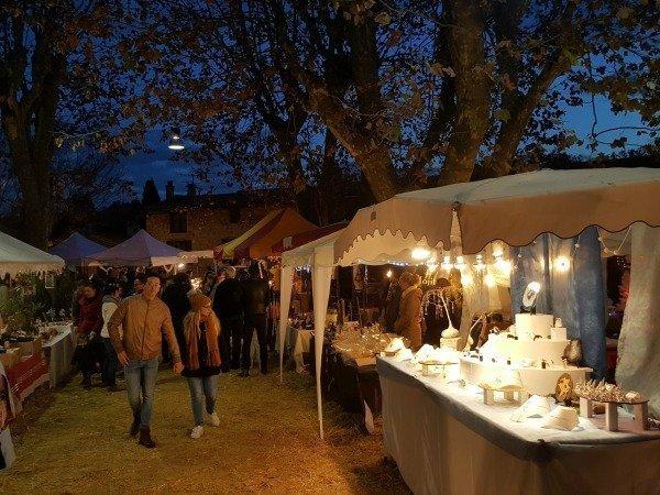 christmas market Provence France