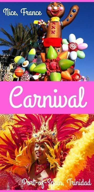 Carnival in Nice and Trinidad