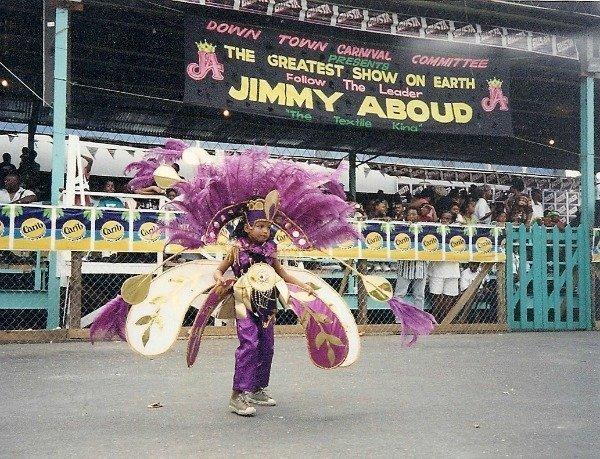 kiddie carnival Trinidad 1997