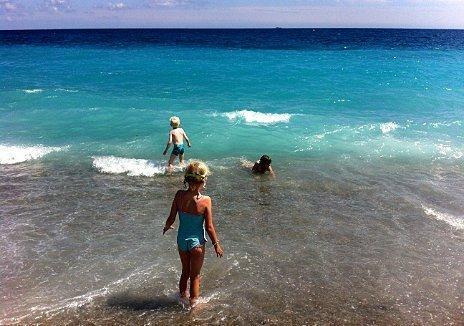 Cote d'Azur beach
