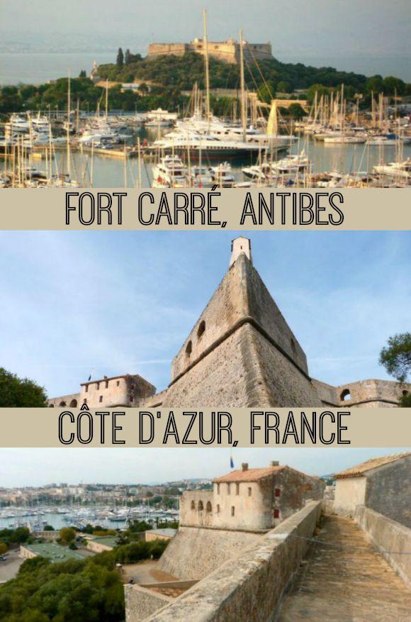 Fort_Carré_in_Port_Vauban_Antibes_Côte_dAzur_France