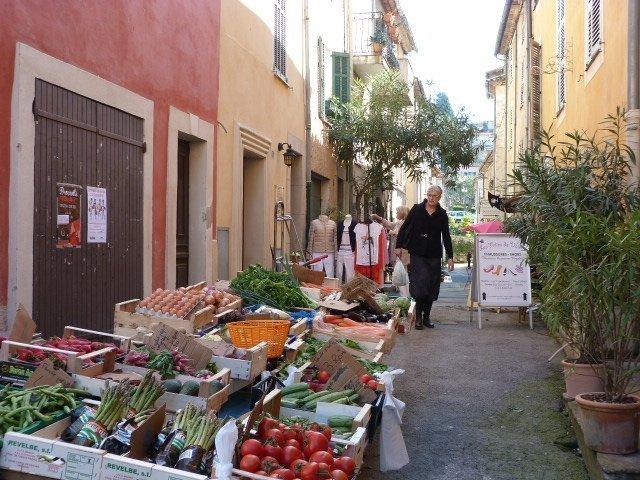 Marché_Valbonne Provence market