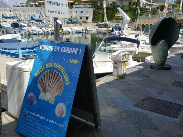 Seashell Museum on the French Riviera
