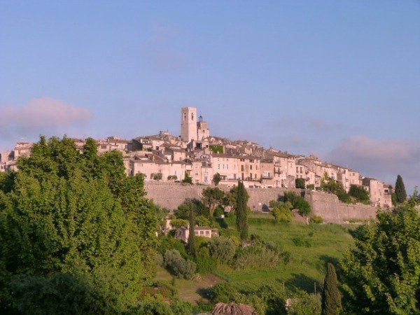 An evening walk in St Paul de Vence