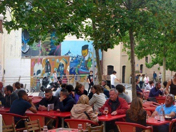 cafés_in_le_Panier_Marseille