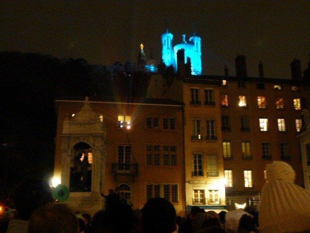 Fête des Lumières Lyon Basilique