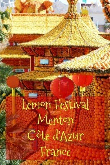 Menton lemon festival fête du citron