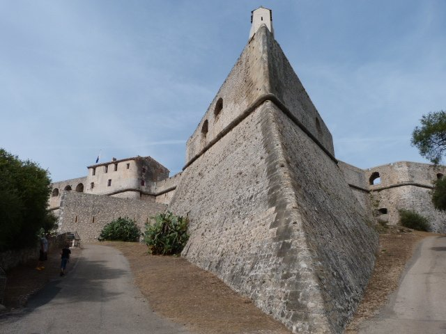 Fort Carré Antibes Côte d'Azur