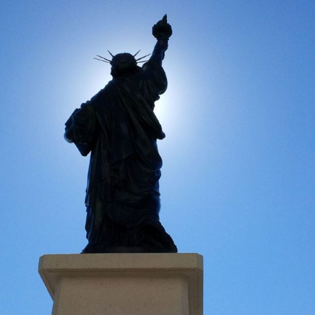 Lady Liberty of Nice – the new Statue