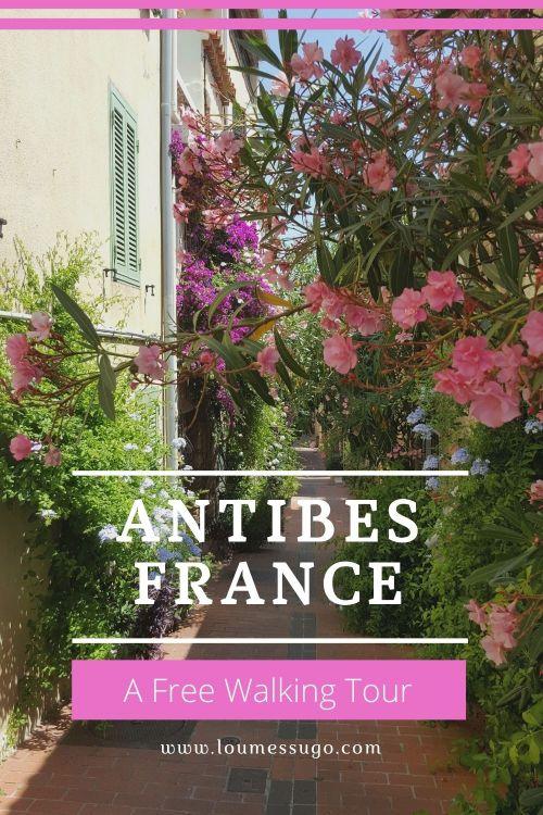 free walking tour antibes