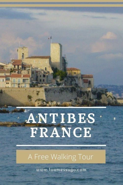 Antibes walking tour