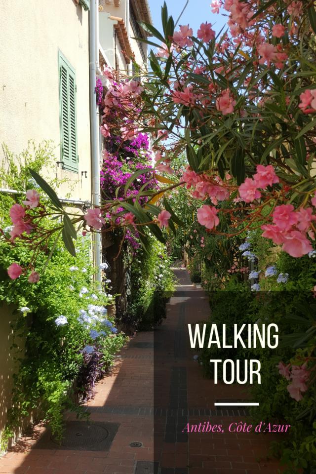 Free alking tour Antibes Côte d'Azur France