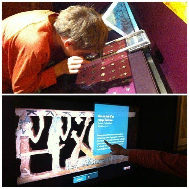 Mougins museum classical art interactive displays