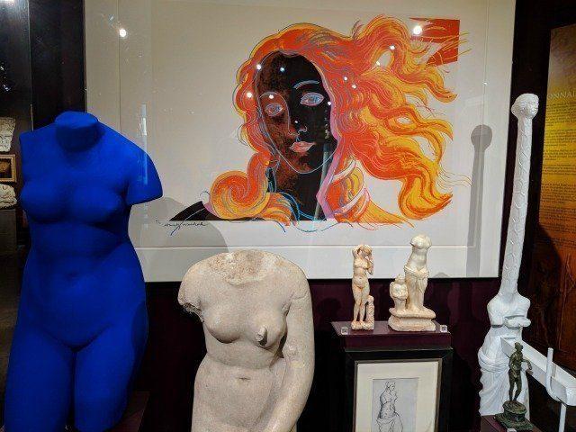 Mougins museum classical art Klein Warhol | Lou Messugo
