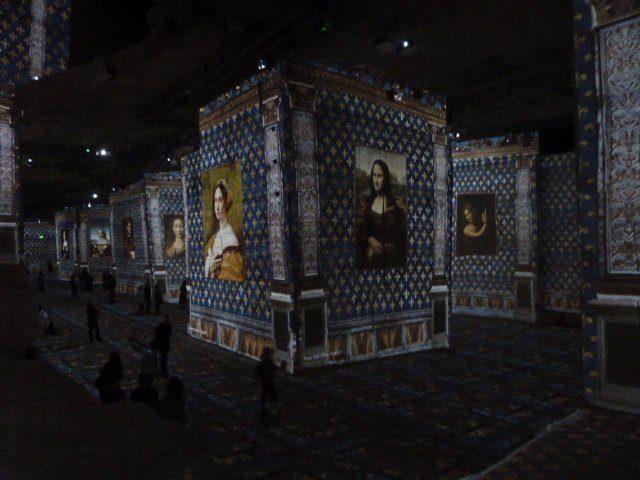 Renaissance art at Carrières de lumières