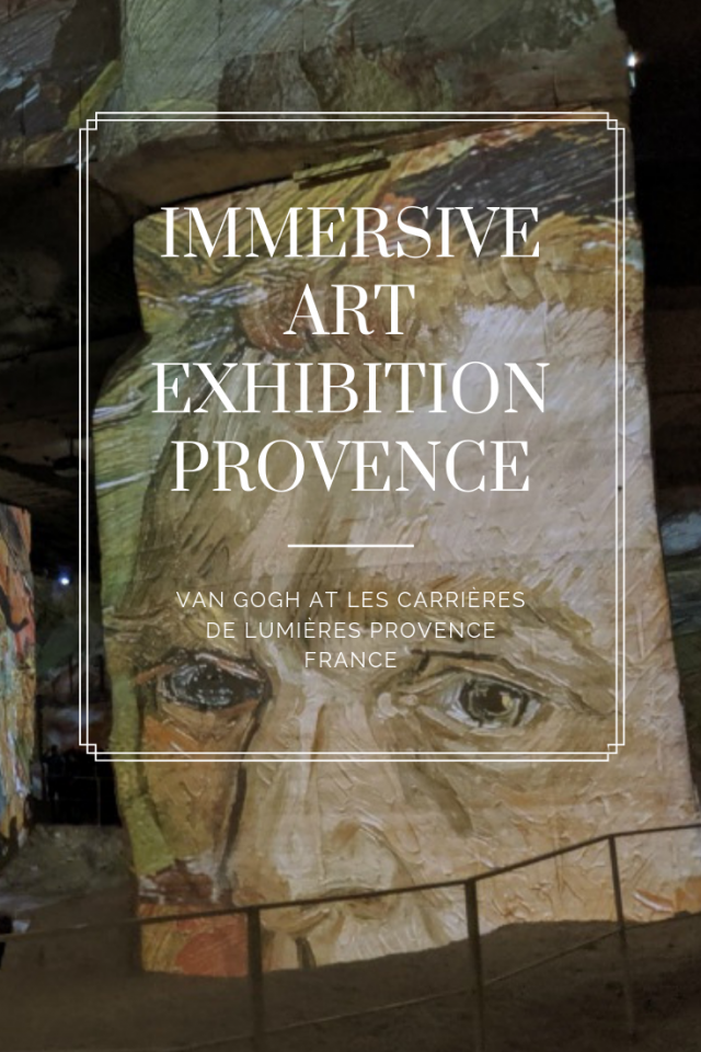Immersive exhibition Provence | Lou Messugo
