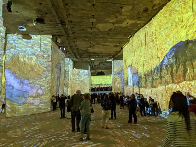 Van Gogh immersive exhibition Provence