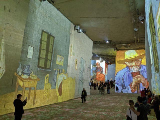 Van Gogh exhibition Carrières de Lumière Provence