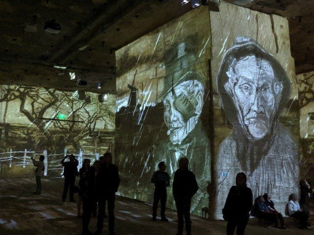 Van Gogh Carrières de Lumière
