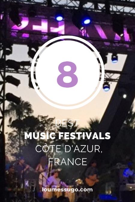 best music festivals Côte d'Azur | Lou Messugo