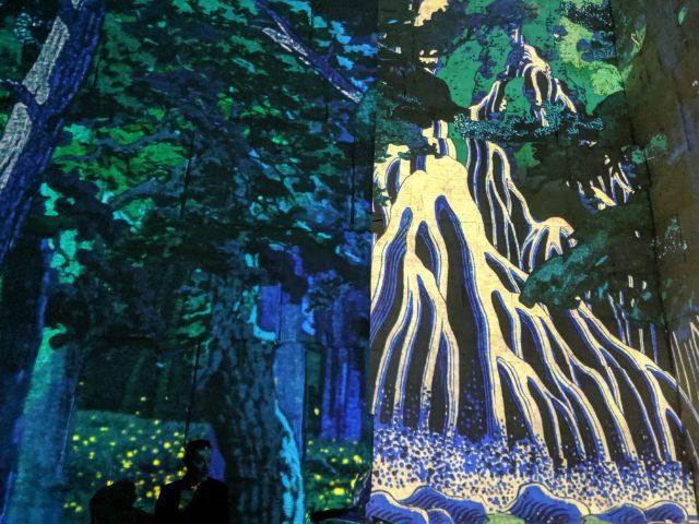 japon rêve immersive art exhibition Provence | Lou Messugo