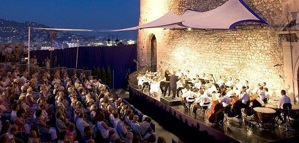 musical festival Côte d'Azur