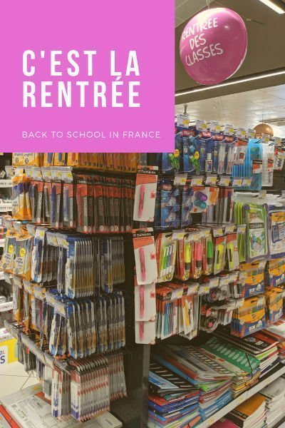 September rentrée back to school | Lou Messugo