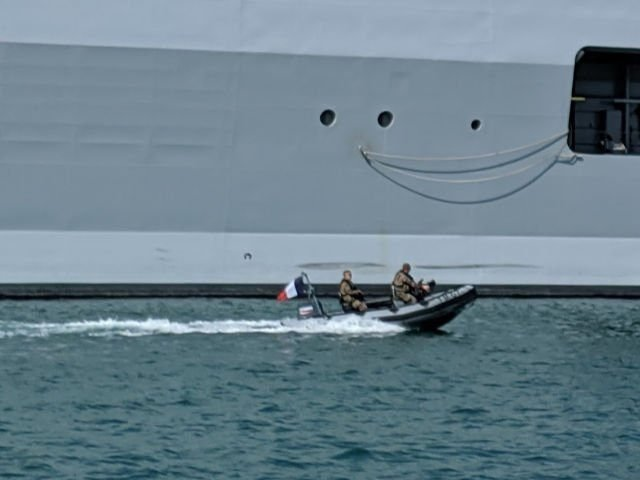 French Navy boat